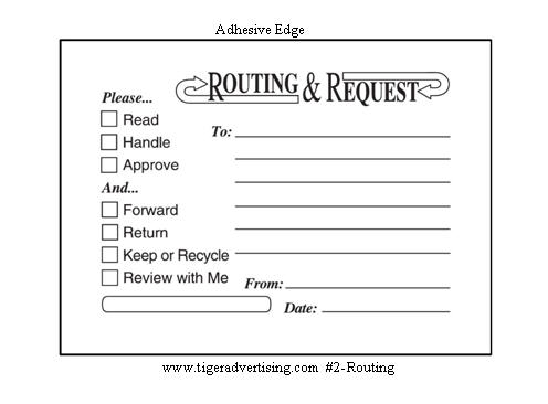 postit routing amp request forms