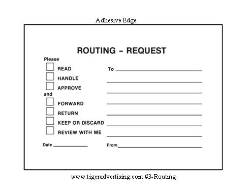 Post It Routing Amp Request Forms