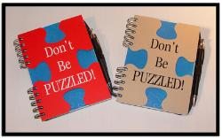 puzzle shaped noye book