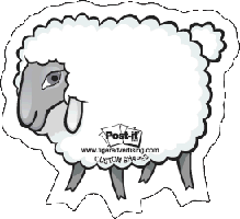 sheep shape note | lamb shape note
